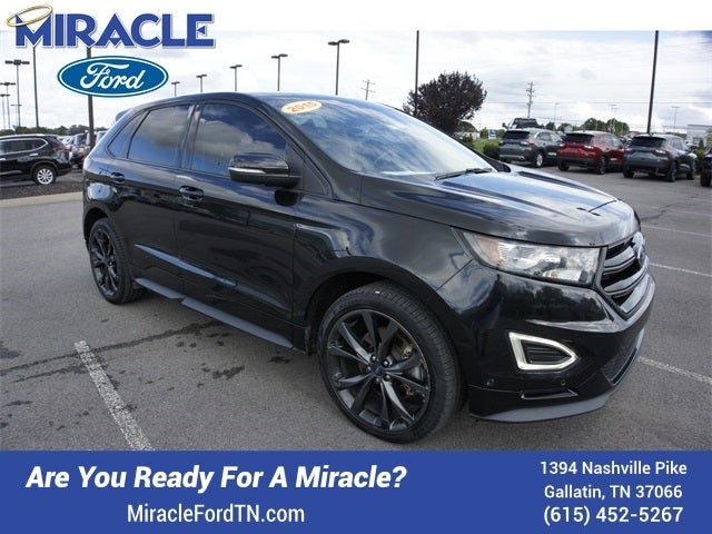 Ford Edge Sport In Gallatin Tn Miracle Chrysler Dodge Jeep